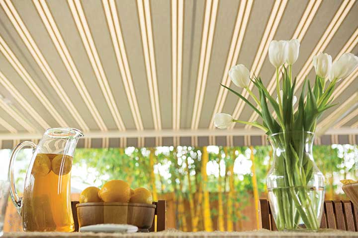 Reduce energy consumption with a retractable awning from Mr Awnings