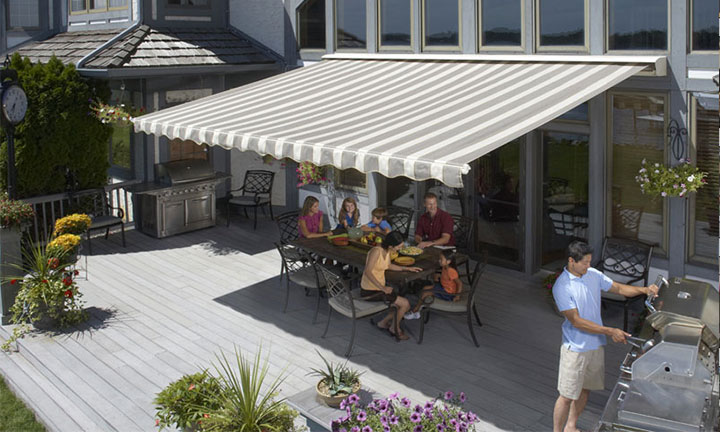 Sunsetter Motorized & XL Awnings