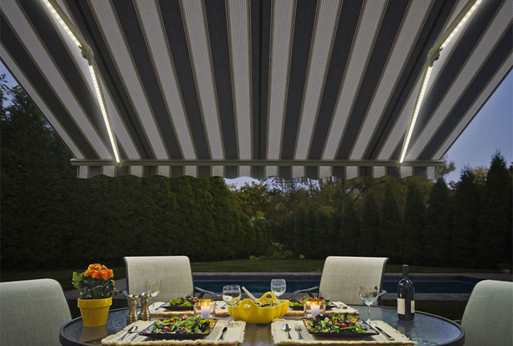 SunSetter retractable awning from Sunspaces