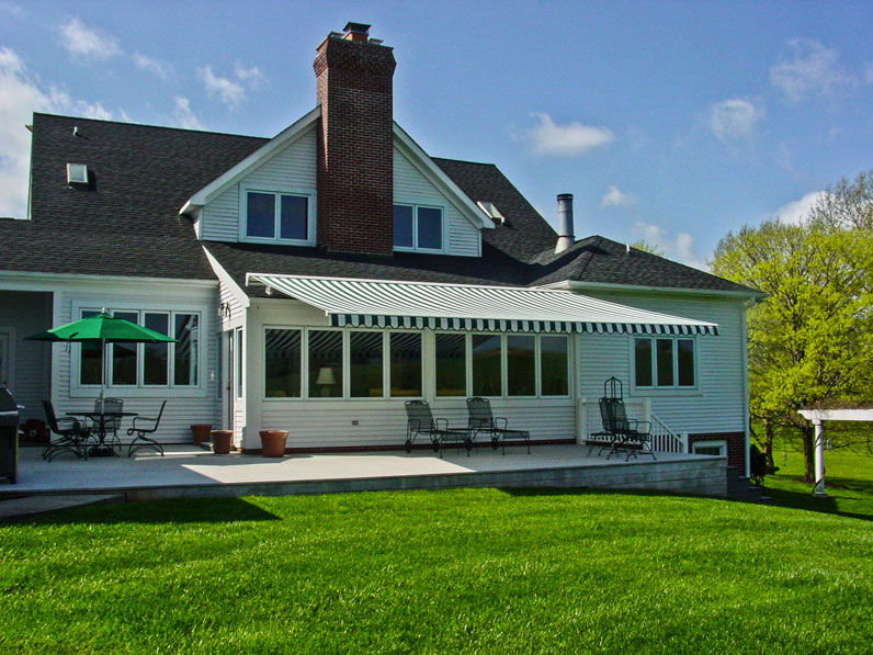 The Sunesta Retractable Awning   Mr Awnings - A Sunspaces ...