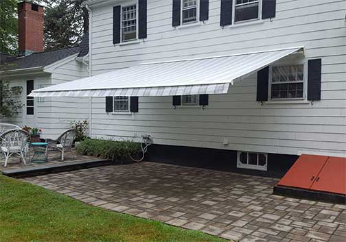 Browse Mr Awnings' awning offerings