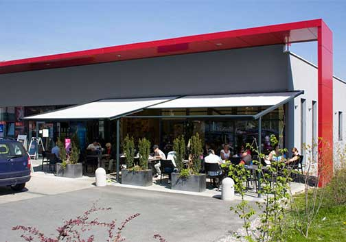 Retractable Shelters from Mr Awnings