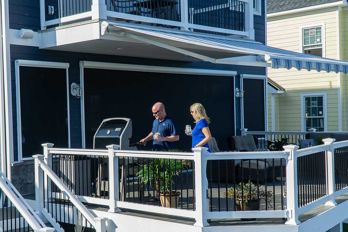 Get Outdoors More With A Retractable Awning